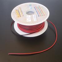 Cavo elettrico per led rosso/nero 2 x 0,35 100 mtl